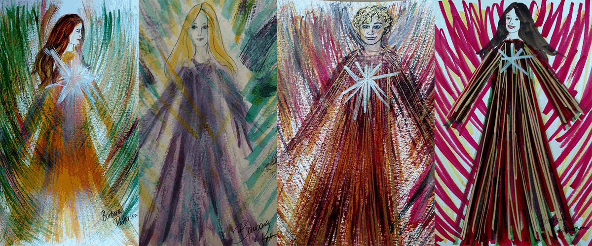 Angel art by barbara